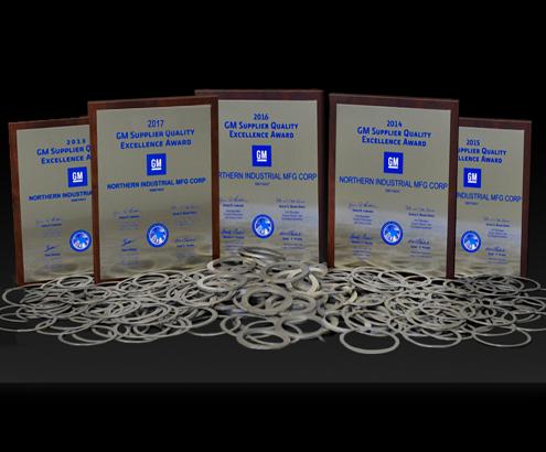 GM 2013-2017 Excellence Award